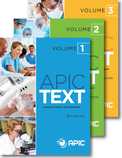 APIC Text of Infection Control and Epidemiology, 4th ed.